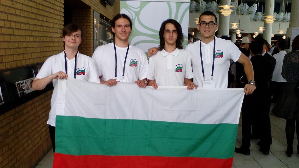 Българският отбор по биология с два бронзови медала