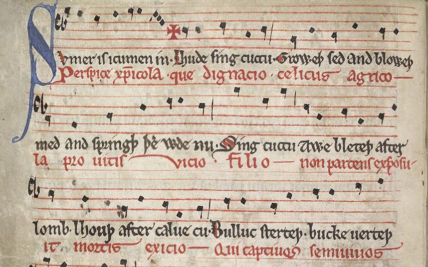 """Музиката и """"бардската"""" страна на нашите англо - саксонски предци"""