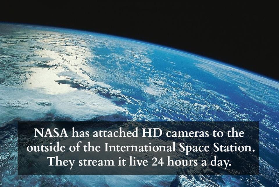 На живо гледаме Земята от Международната Космическа Станция!