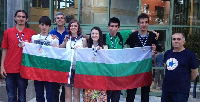 Българският национален отбор по математика с 6 медала