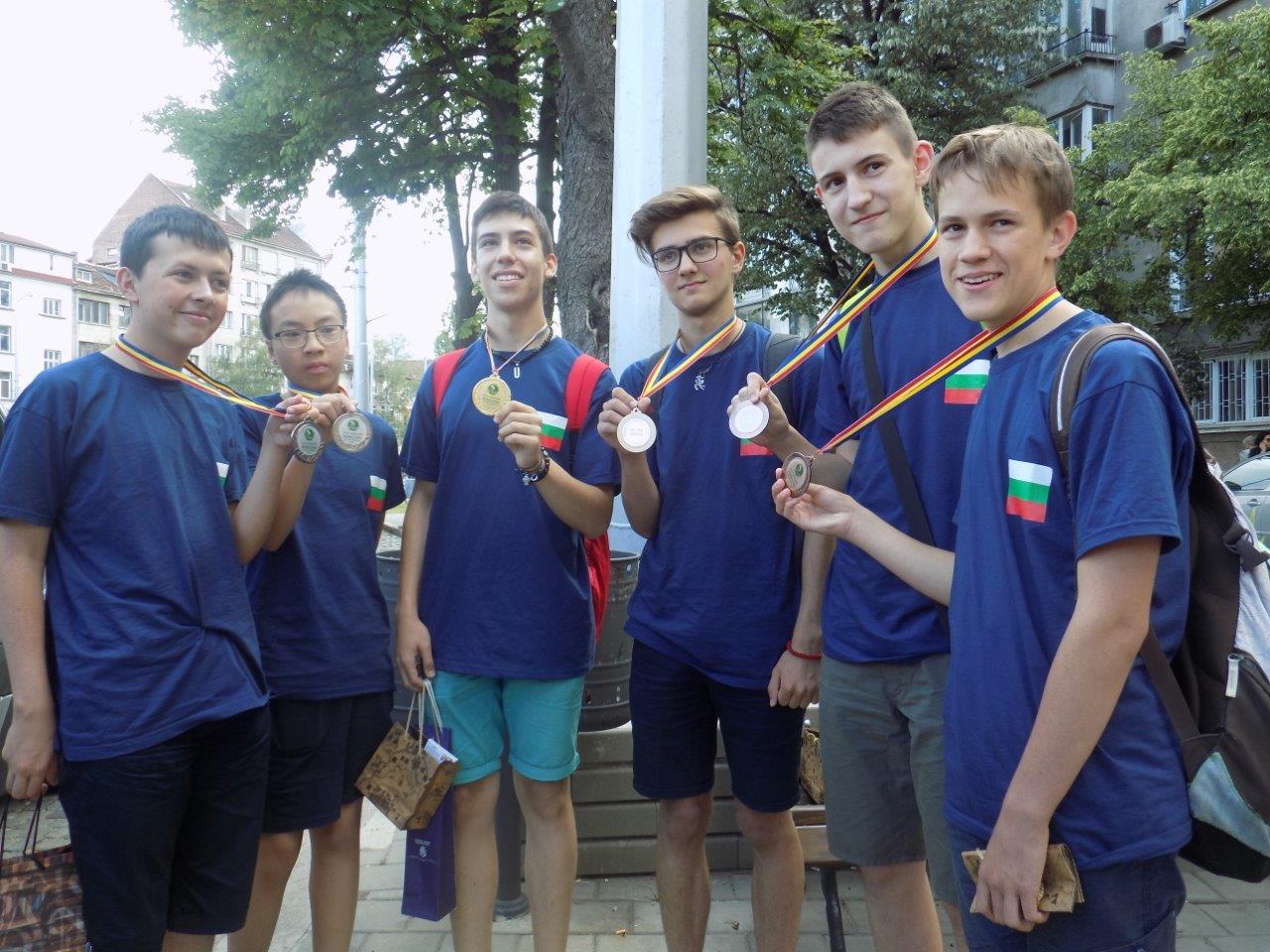 Злато и високи постижения за българския олимпийски отбор на Младежката балканска олимпиада по математика