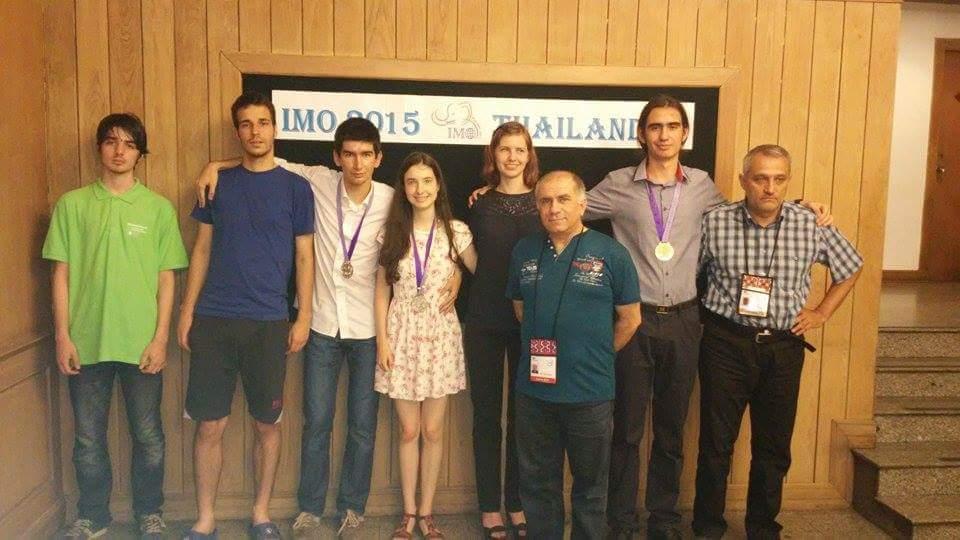 Българският отбор по математика спечели два сребърни и един бронзов медал