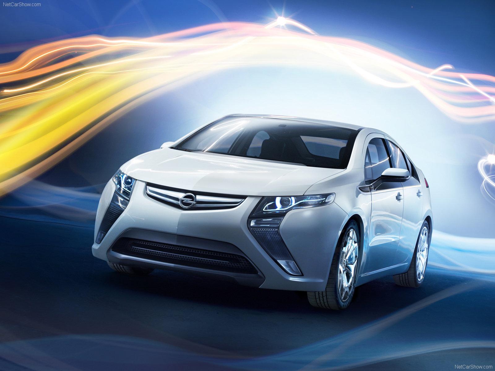 Електромобилът Opel Ampera