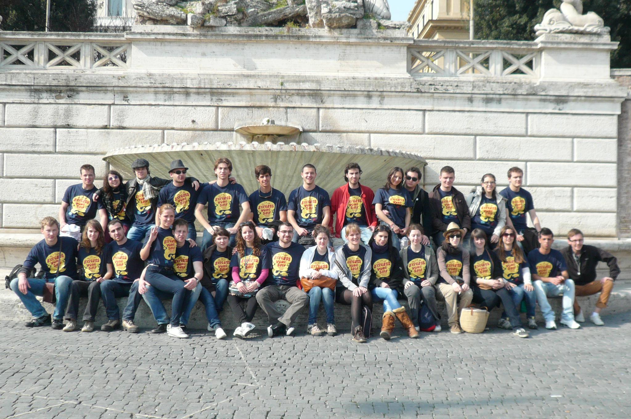 БГ Наука участва в проекта Express yourself в Италия