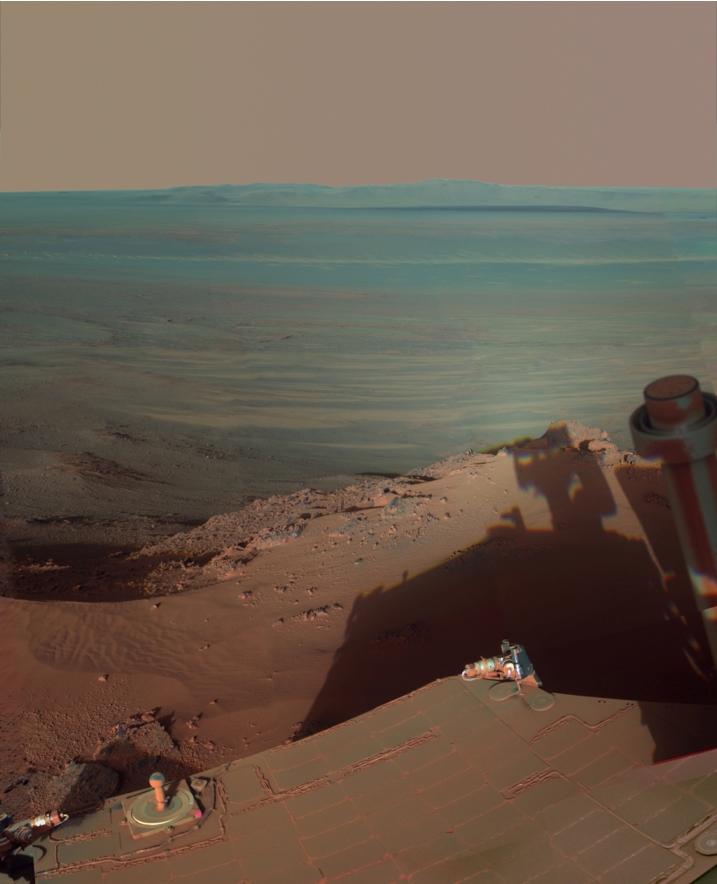 Нова снимка от Марс