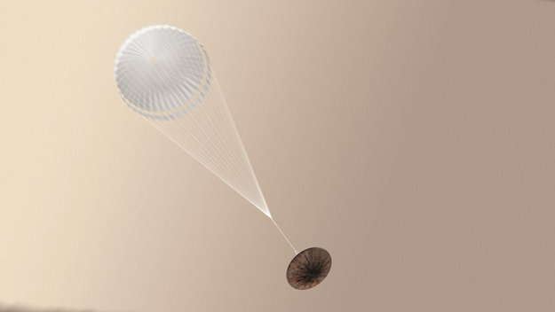 Частичен, но важен успех за Скиапарели! На Земята са получени ценни данни от спускането и кацането.
