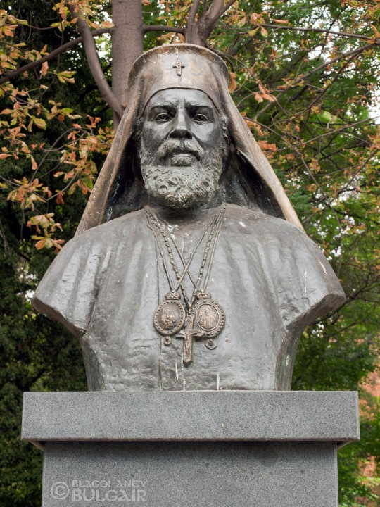 Паметник на Патриарх Кирил Български в Пловдив