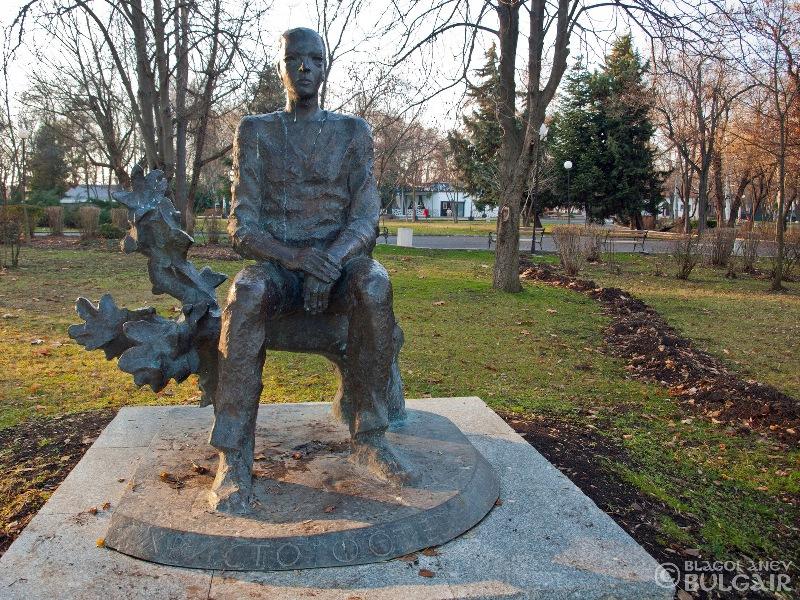 Паметник на Христо Фотев в Бургас