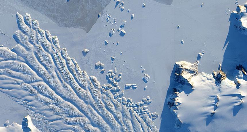 Колко въглероден диоксид могат да понесат антарктическите ледове
