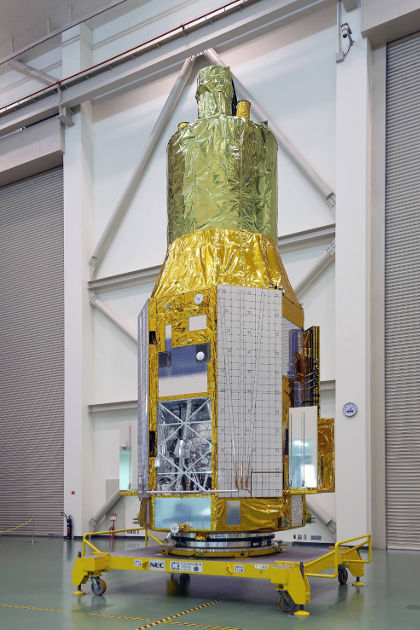Япония ще изстреля космическа обсерватория в петък