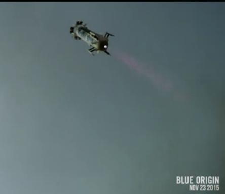 Блу Ориджин извърши възвращаем космически полет