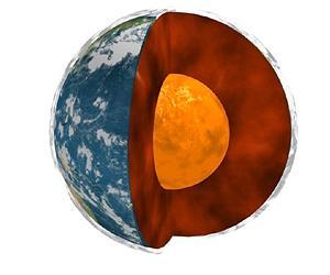 Земното ядро лишено от кислород
