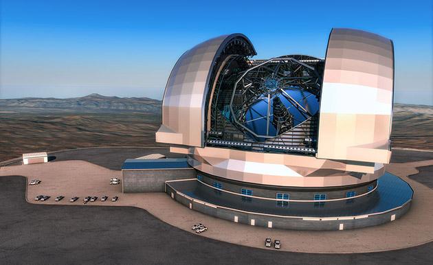 Бъдещия европейски екстремно-голям телескоп в Чили