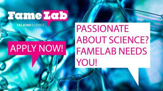 Запиши се за FameLab