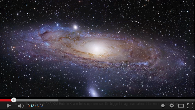 Галактиката Андромеда - 1,5 милрд. пиксела