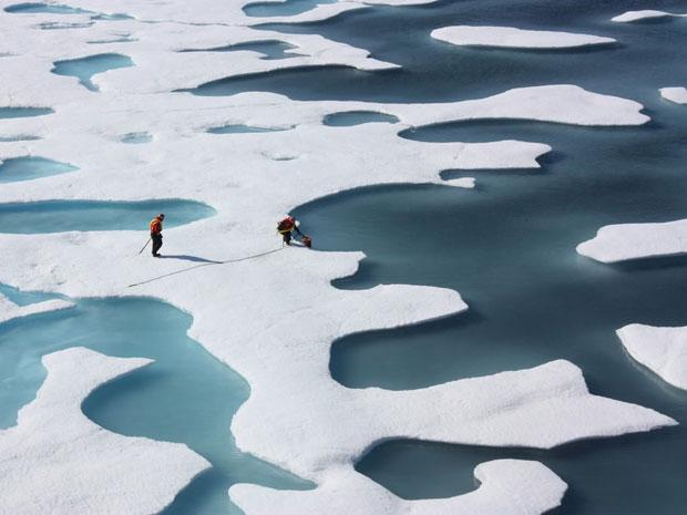 Студени зими, заради топенето на арктичния лед?
