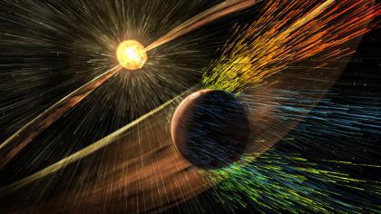 Марс постепенно губи атмосферата си!