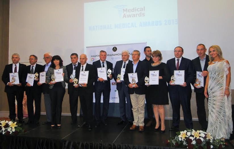 Министър Москов поздрави отличените от Медицинските Оскари