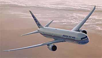 Boeing 767-400ERX (Extended range)