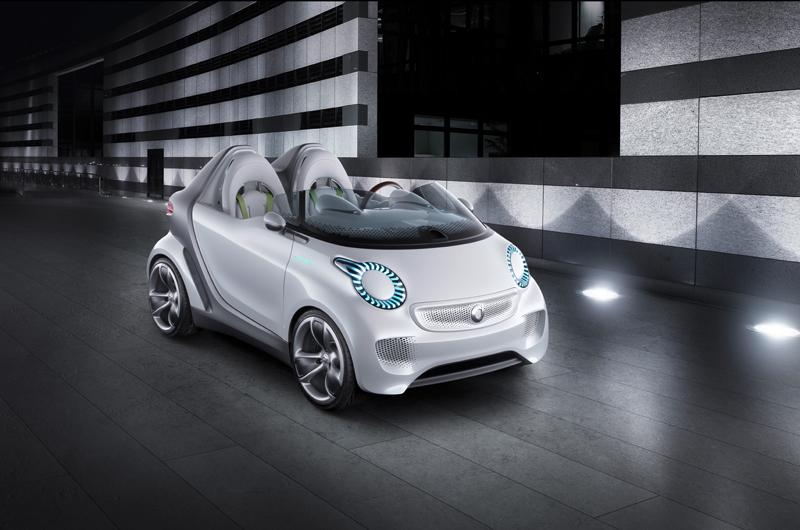 Електромобилът Smart Forspeed