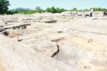 Археологическите разкопки край София