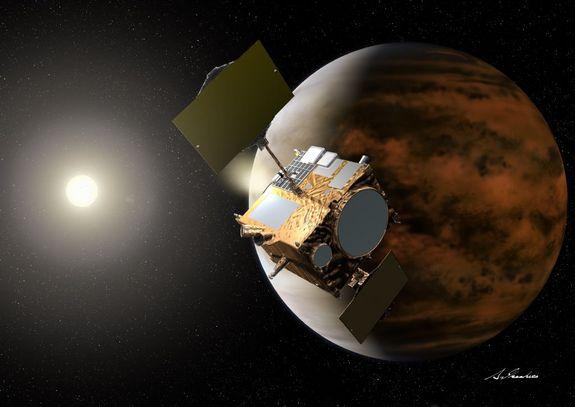 Акатсуки ще опита да влезе в орбита около Венера!
